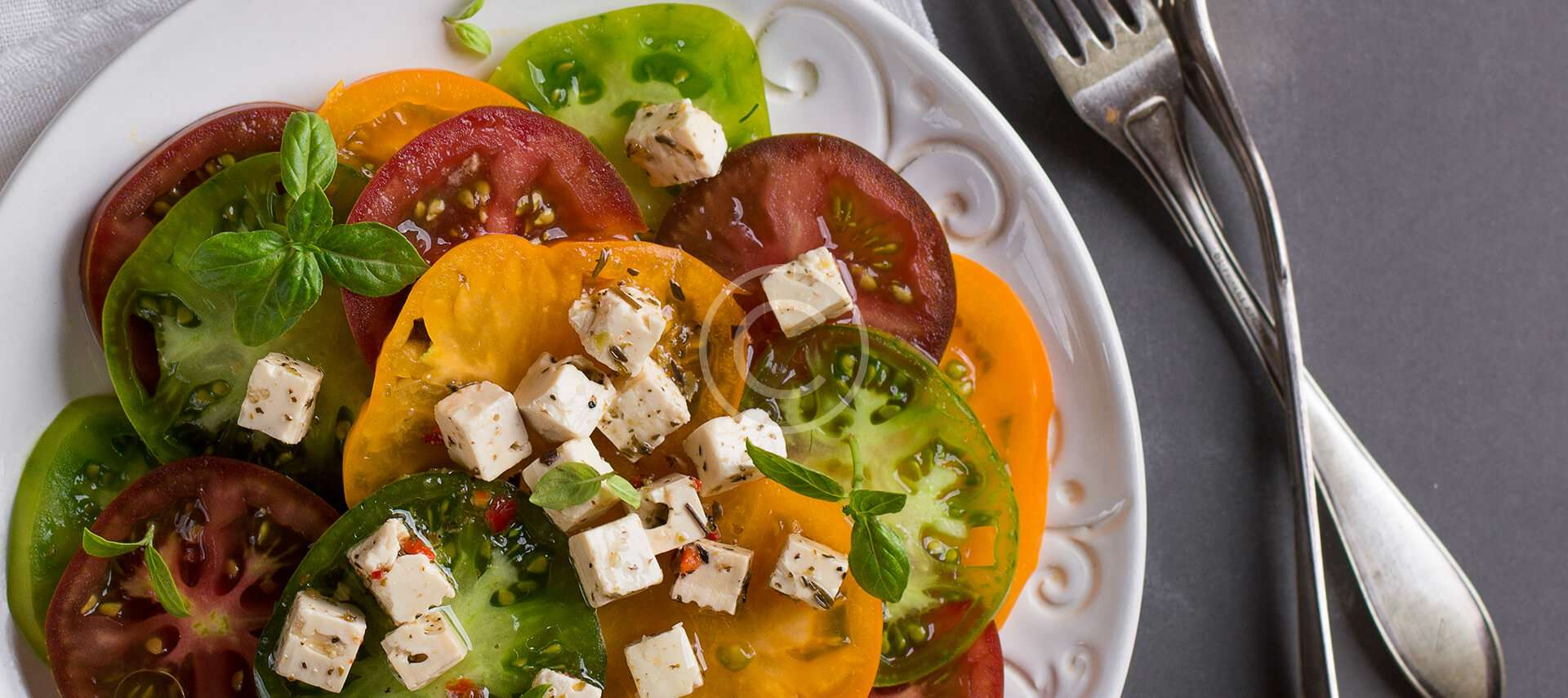 Tomato Salad with Balsamic Dressing