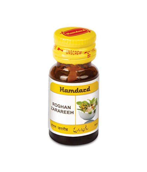 HAMDARD Roghan Zarareeh (10ml) Pack of 2