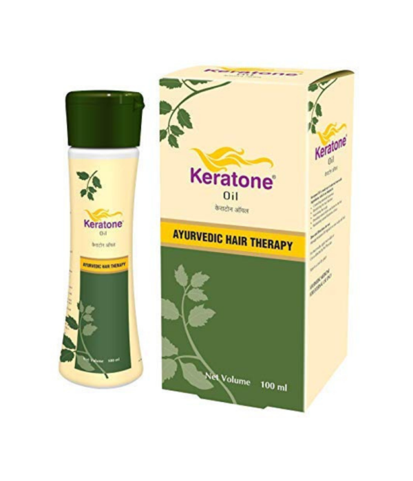 Keratone Oil: Ayurvedic Hair Therapy Oil for Scalp Nourishment and Hair Revitilization- 100ml