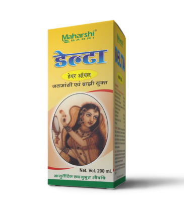 Maharshi Delta Hair Oil - 200 ml