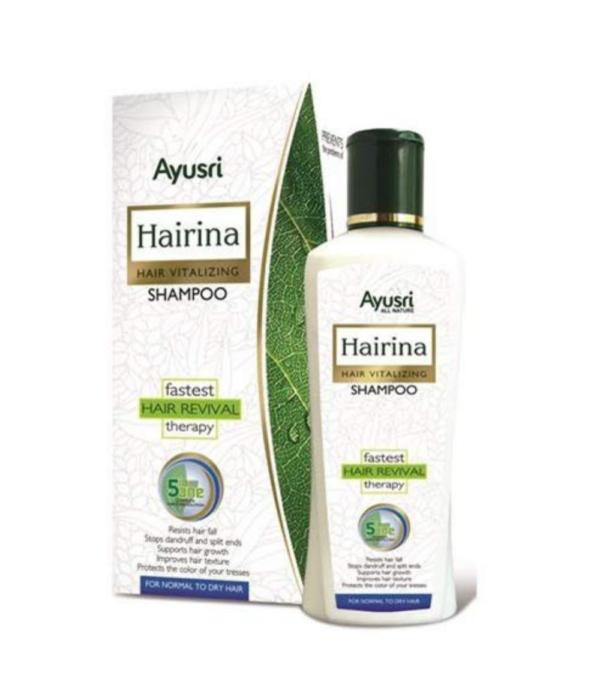 Ayusri Hairina Hair Vitalilizing Shampoo for Normal to Dry Hair