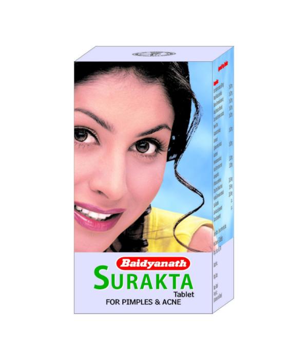 Baidyanath Surakta - 50 Tablets (Pack of 2)