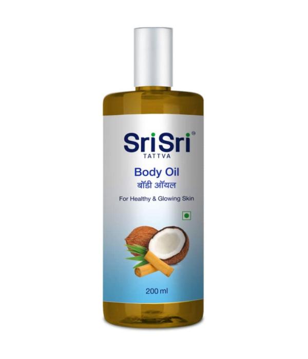 Sri Sri Tattva Body Oil, 200ml (Single Pack)