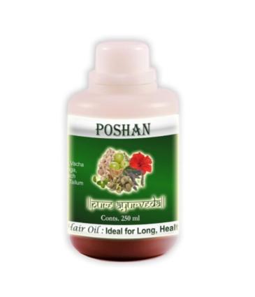 KVM Poshan Ayurvedic Hair Oil -Pure, Herbal & Natural (250 ml)