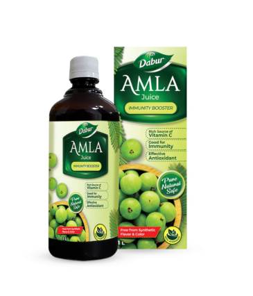 Dabur Amla Juice: Rich Source of Vitamin C and Antioxidants for Immunity boosting |Pure, Natural and 100% Ayurvedic Juice -1L