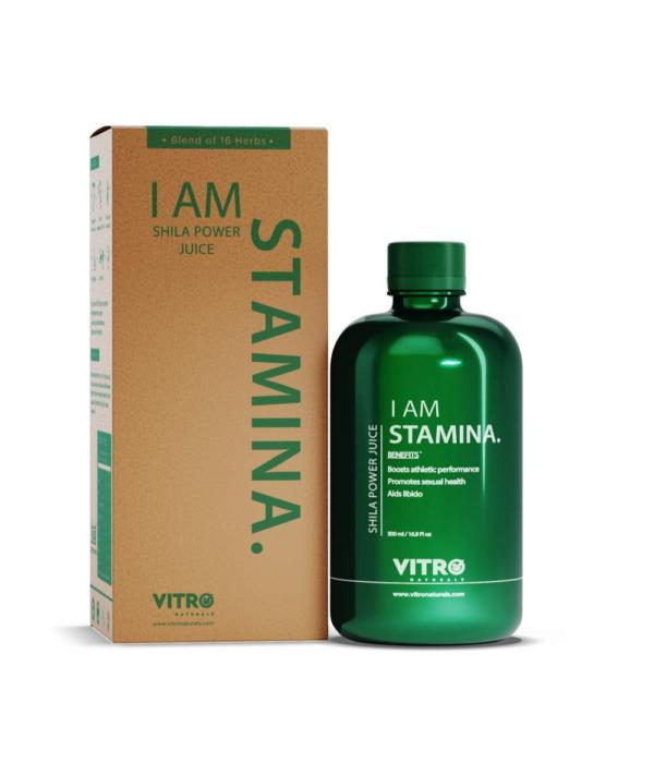 Vitro Shila Power Juice | No added sugar | I AM STAMINA, 500ml