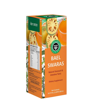 Heera Ayurvedic Research Foundation Bael Juice 500ml sugar free Premium Juice