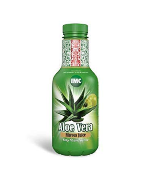 Imc Aloe Vera Juice Enriched With A Mla,Tulsi, Ginger, Stevia - Pack Of 2, Each 500 Ml