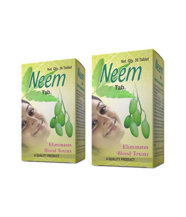 Maharshi Neem Tablet - 60 Tablet (Pack of 2)