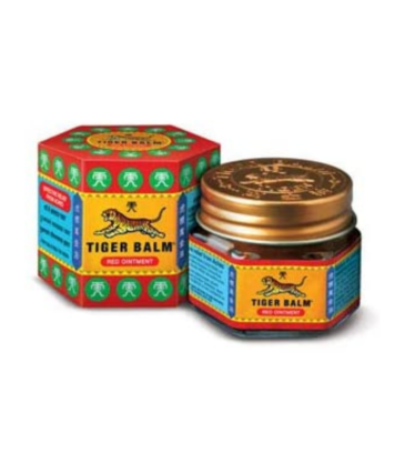 Tiger Balm Red Ointment For Effective Relief From Muscular Aches, Sprains & Pain- 21ml | Ayurvedic Balm | Pack of 6