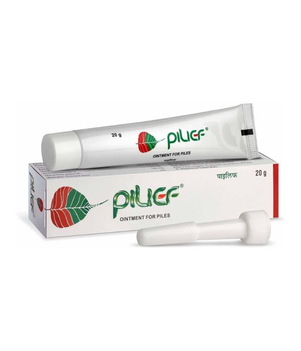 Charak Pharma Pilief Ointment - 20 g (Pack of 2)