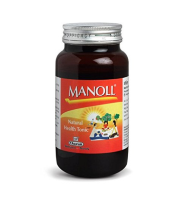Manoll Syrup Natural Health Tonic, 400 g
