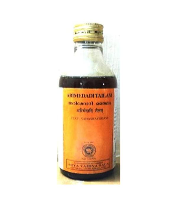 Arya Vaidya Sala Kottakkal Ayurvedic Arimedadithailam - 200 ml
