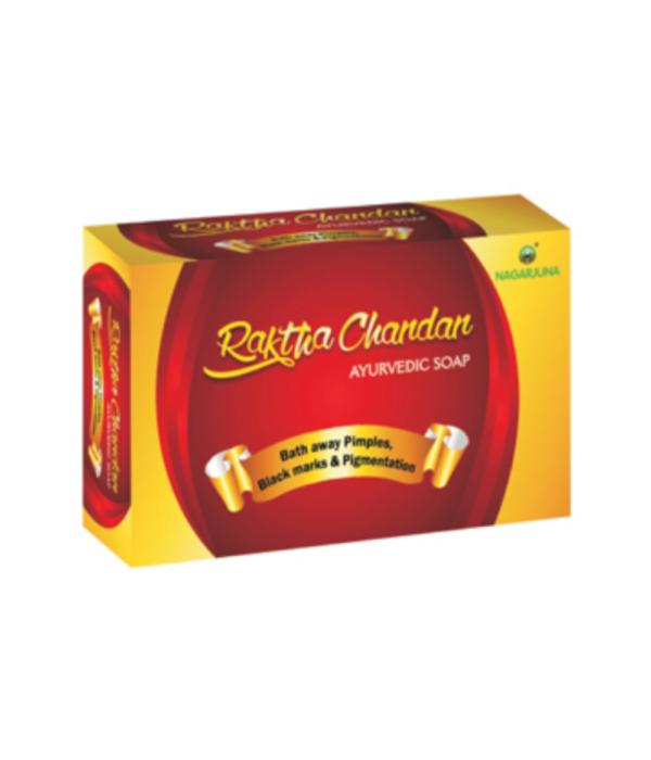 Nagarjuna Raktha Chandan Ayurvedic Soap