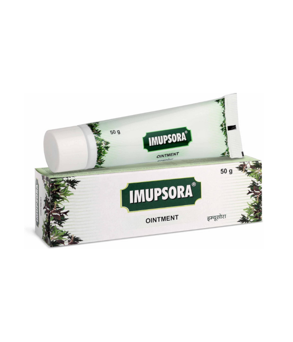 Charak Pharma Imupsora Ointment for Skin Disorders - 50 gms (Pack of 2)