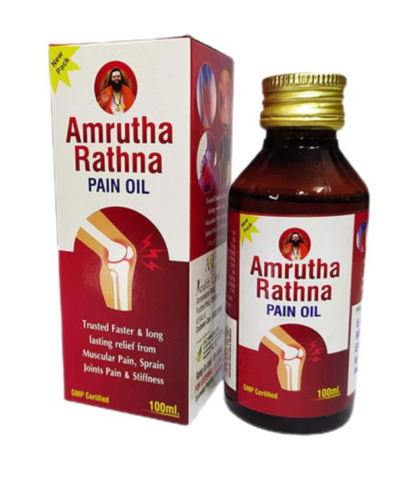 A & J HEALTH CARE Amrutha Rathna Pain Oil (100 ml)