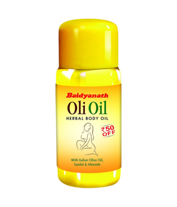 Baidyanath Oli Oil - Pure Olive Oil with Sandalwood and Almonds - 500ml