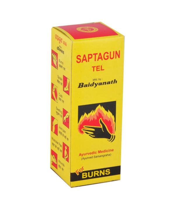 Baidyanath Saptgun Tail - 50 ml (Pack of 2)