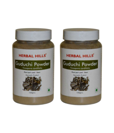 Herbal Hills Guduchi Powder - 100 g Pack of 2