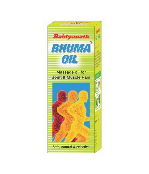 Baidyanath Rhuma Oil - 100 ml (Pack of 2)
