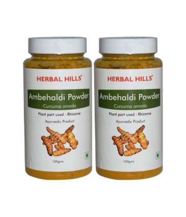 Herbal Hills Ambehaldi Skin Care Powder - 100g each (Pack of 2)