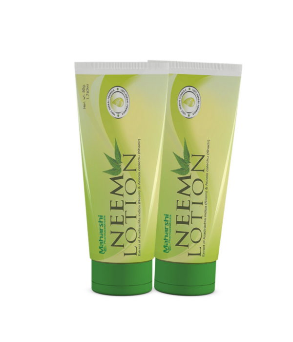 Maharshi Neem Lotion - 100 g (Pack of 2)