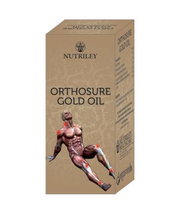 CRD Ayurveda Orthosure Gold Joint Pain Arthritis Oil - 30 ml