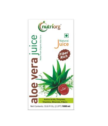 Nutriorg Aloe Vera Juice - 1000ml