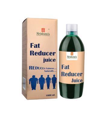 Krishna's Herbal & Ayurveda Fat Reducer Juice - 1 l (Pack of 1)