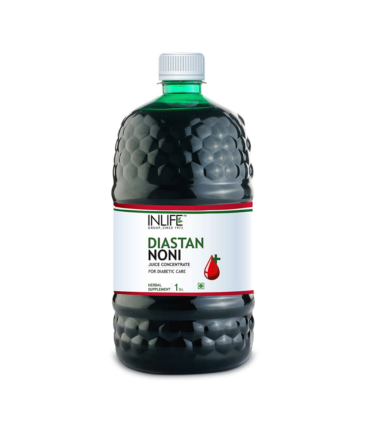 INLIFE Diastan Noni for Diabetic Care, Juice Concentrate, Gymnema Sylvestre, Fenugreek, Karela, Jamun and other powerful herbs - 1 Litre