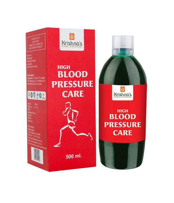 Krishna's Herbal & Ayurveda High BP Care Juice - 500 ml (Pack of 1)