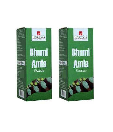 Krishna's Herbal & Ayurveda Bhumi Amla Juice 500ml (pack of 2)