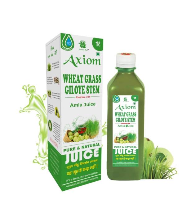 Generic Wheat Grass Giloy Stem Juice (500ml)