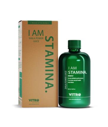 Vitro Shila Power Juice | Energy Buster, No added sugar | I AM STAMINA, 500ml