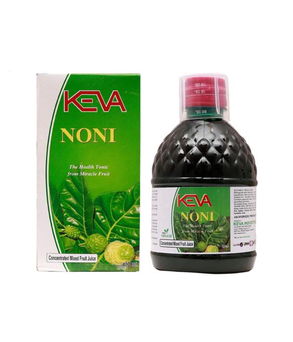 Keva Industries Herbals Natural Ayurvedic Organic Noni Juice (400 ml)